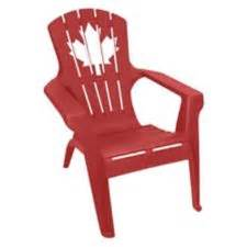 gracious living canada day adirondack chair canadian tire