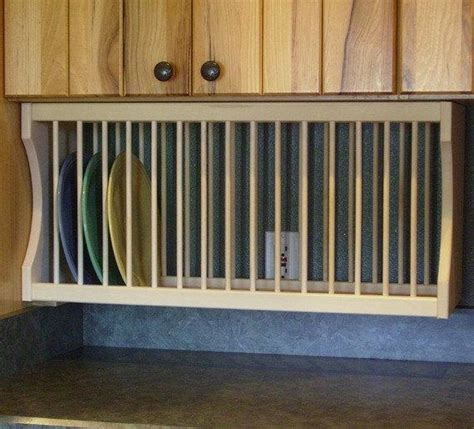 cabinet  plate rack  nicoletwoodproducts  etsy