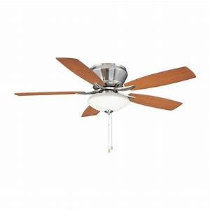 Modern flush mount ceiling fans with lights for Modern flush mount ceiling fans with lights