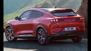 2021 Ford Mustang Mach-E SUV - Interior, Exterior and Driving - YouTube