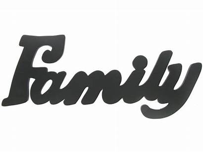 Word Clipart Wall Happy Families Clip Wood