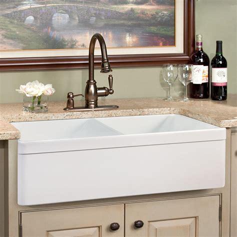 7 deep kitchen sink 33 quot baldwin double bowl fireclay farmhouse sink decorative