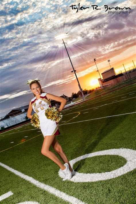 High School Cheerleading Photos