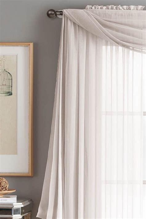 Window Scarf by Best 25 Scarf Valance Ideas On Window Scarf