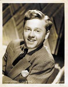 Mickey Rooney: Muses, Cinematic Men | The Red List