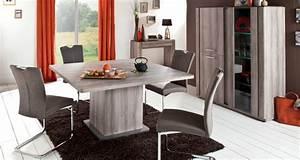 Table à Manger Carrée : table carr e landen table de salle manger conforama ~ Teatrodelosmanantiales.com Idées de Décoration