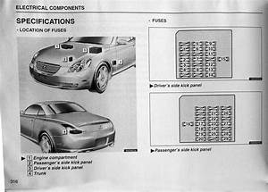 Sc430 Fuse Diagram 2002