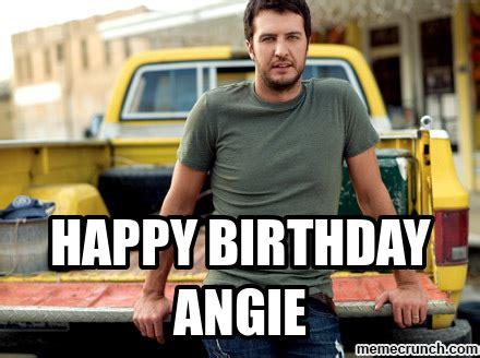 Angie Meme - happy birthday angie
