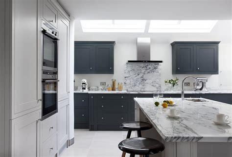 Farrow & Ball Downpipe and Purbeck Stone kitchen, Blackrock
