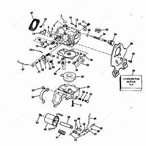 Evinrude 1982 25 - E25tecnb  Carburetor