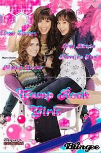 camp rock girls(demi lovato,alyson stoner y ana maria ...