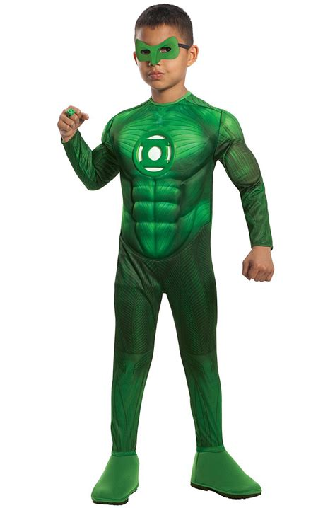 dc comic s green lantern deluxe chest hal toddler child costume purecostumes