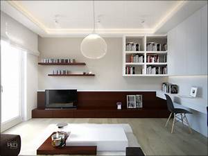 A 40 square meter flat with a clever and spacious interior ...