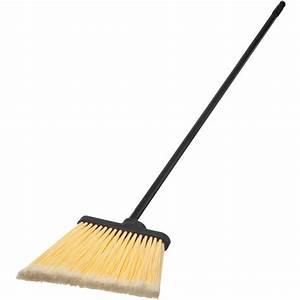 "Carlisle 3686500 Duo Sweep 48"" Medium Duty Angle Broom"