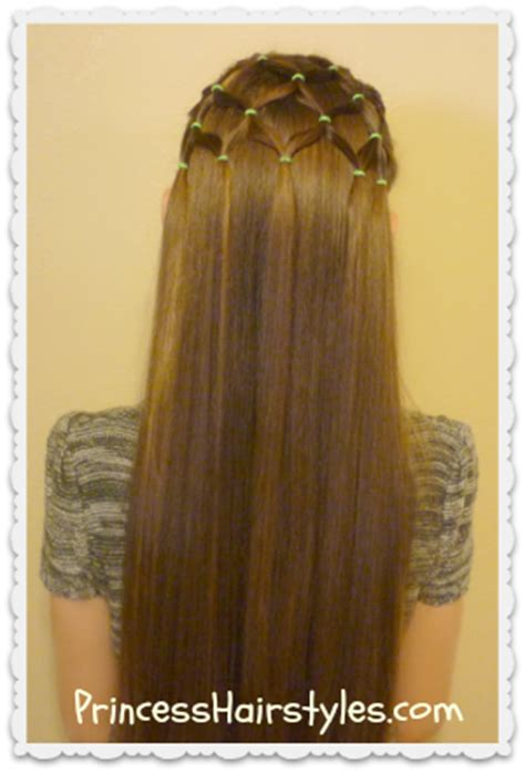 elastic christmas tree hairstyle hairstyles  girls princess hairstyles