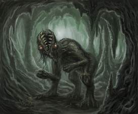 The Lovecraft Mythos Bestiary by K.L. Turner: Gug