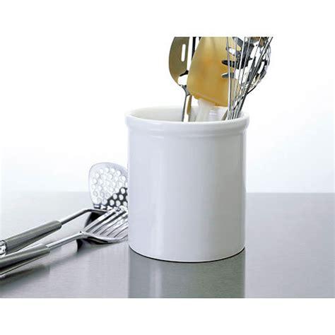 kitchen utensil holder large ceramic kitchen utensil holder white in kitchen 3420