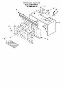 Cabinet Diagram  U0026 Parts List For Model Gh7155xhs1