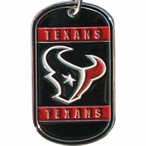 Houston Texans Dog Tag