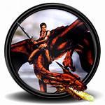 Drakan Order Flame Icon Icons Games Mega