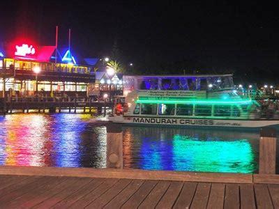 Mandurah Boat Xmas Lights by Mandurah Accommodation Mandurah Canal Lights Holiday