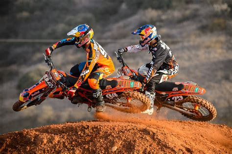 red motocross team shooting 2013 red bull ktm factory racing