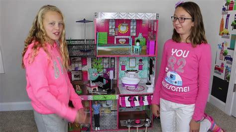 Kidkraft Brookly's Loft Wood Dollhouse Review  Youtube