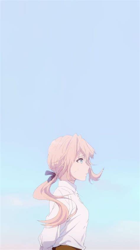 anime aesthetic girl blue