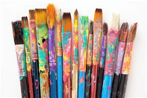 Mattie Rhodes paint brushes - Mattie Rhodes