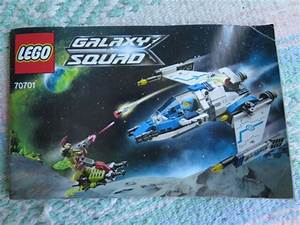 Lego Galaxy Squad 70701 Manual Guide Only  Paperback