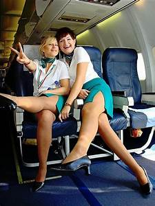 Women strips on delta flight