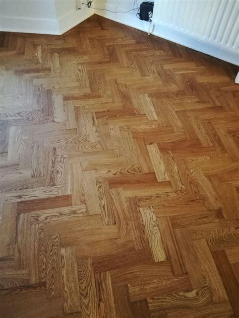 oak parquet flooring floor sanding  installation