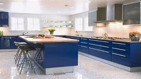 Cobalt blue countertops, cobalt blue kitchen cabinets
