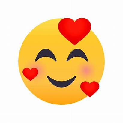 Emoji Animations Presenting Face Smiling Joypixels Hearts
