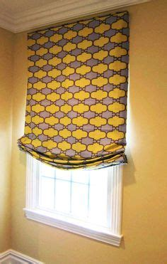 custom relaxed roman shade  center pleat tails  beaded trim  work   window