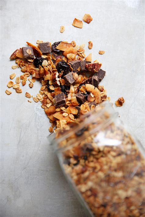 lexis clean kitchen cherry coconut  chocolate granola