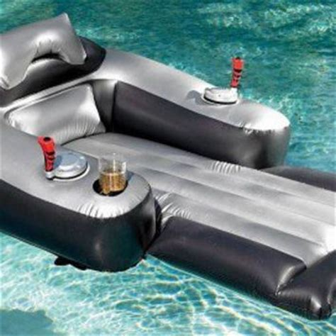 motorized pool lounger from opulent items