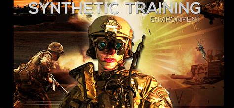 synthetic training environment  army combined arms center