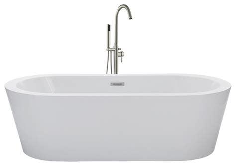48 freestanding tub helen freestanding bathtub 67 quot contemporary bathtubs