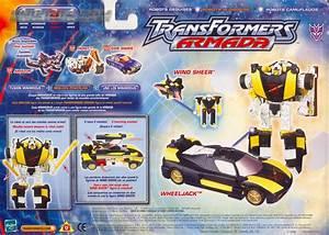Transformers Armada Wheeljack w/ Wind Sheer - Transformers ...