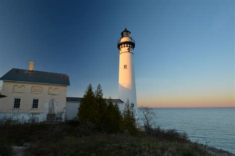 south manitou island lighthouse sleeping bear dunes