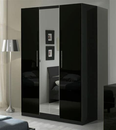 armoire 3 portes gloria noir