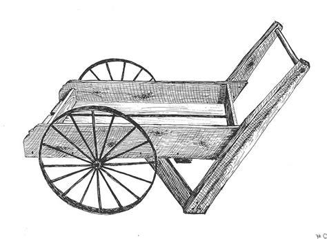 plans  hardware  fashioned wooden peddler cart