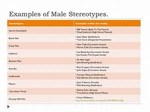 Pics For > Gender Stereotypes In The Media Examples