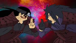 Madara Uchiha vs Hashirama Senju by XMADYRO on DeviantArt