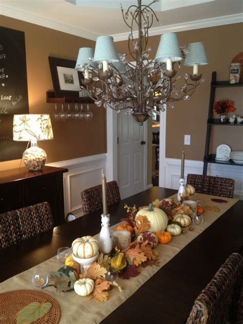 dining room centerpieces ideas 30 beautiful and cozy fall dining room décor ideas digsdigs