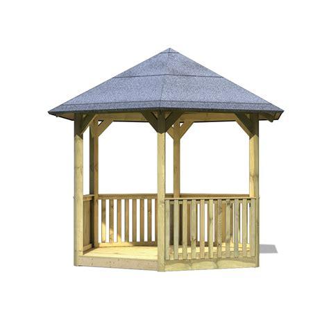 kit cuisine pas cher karibu gloriette de jardin en bois madrid avec plancher et