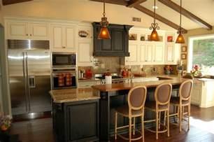 kitchen island with bar stools 10 kitchens use of barstools