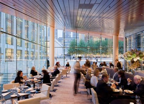 Green Roofed Lincoln Ristorante By Diller Scofidio