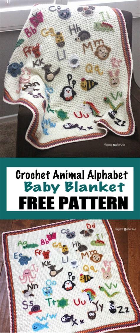 crochet zoo baby blanket  whoot